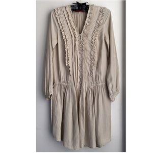 Rebecca Taylor ruffled tunic dress size 2